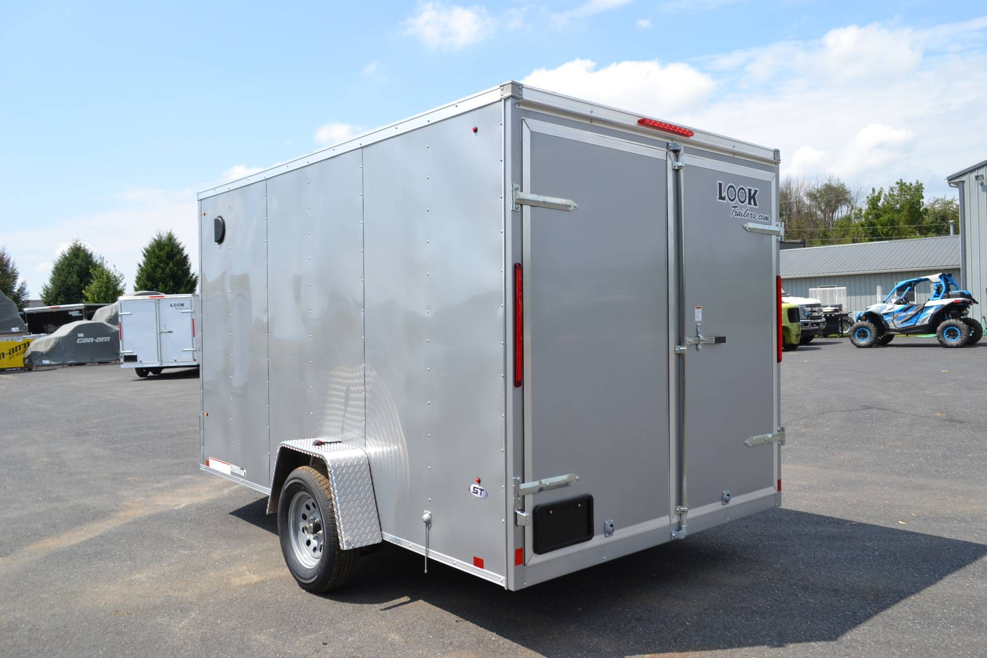 2020 Look Trailers 7X12 STDLX Cargo Trailer Double Door +6 in Harrisburg, Pennsylvania - Photo 7