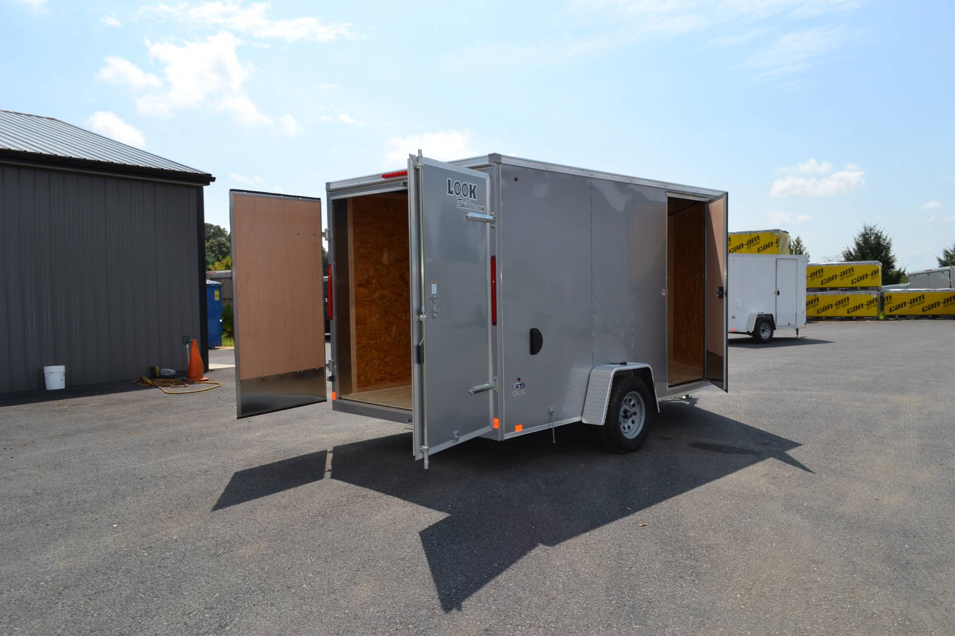 2020 Look Trailers 7X12 STDLX Cargo Trailer Double Door +6 in Harrisburg, Pennsylvania - Photo 13