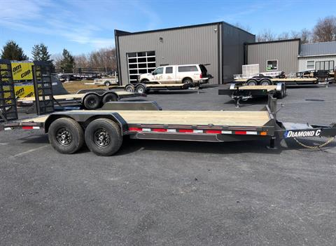 2019 Diamond C 20X82 EQT207 Equipment Trailer 14K XWR in Harrisburg, Pennsylvania