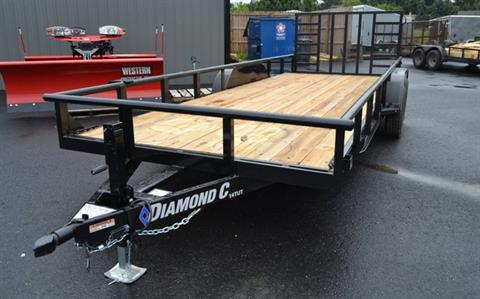 2018 Diamond C 20X82 14TUT Utility Trailer Dovetail in Harrisburg, Pennsylvania - Photo 1