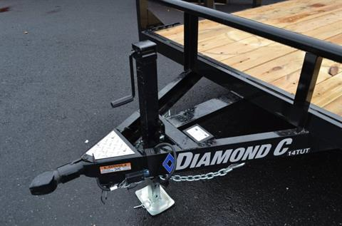 2018 Diamond C 20X82 14TUT Utility Trailer Dovetail in Harrisburg, Pennsylvania - Photo 9