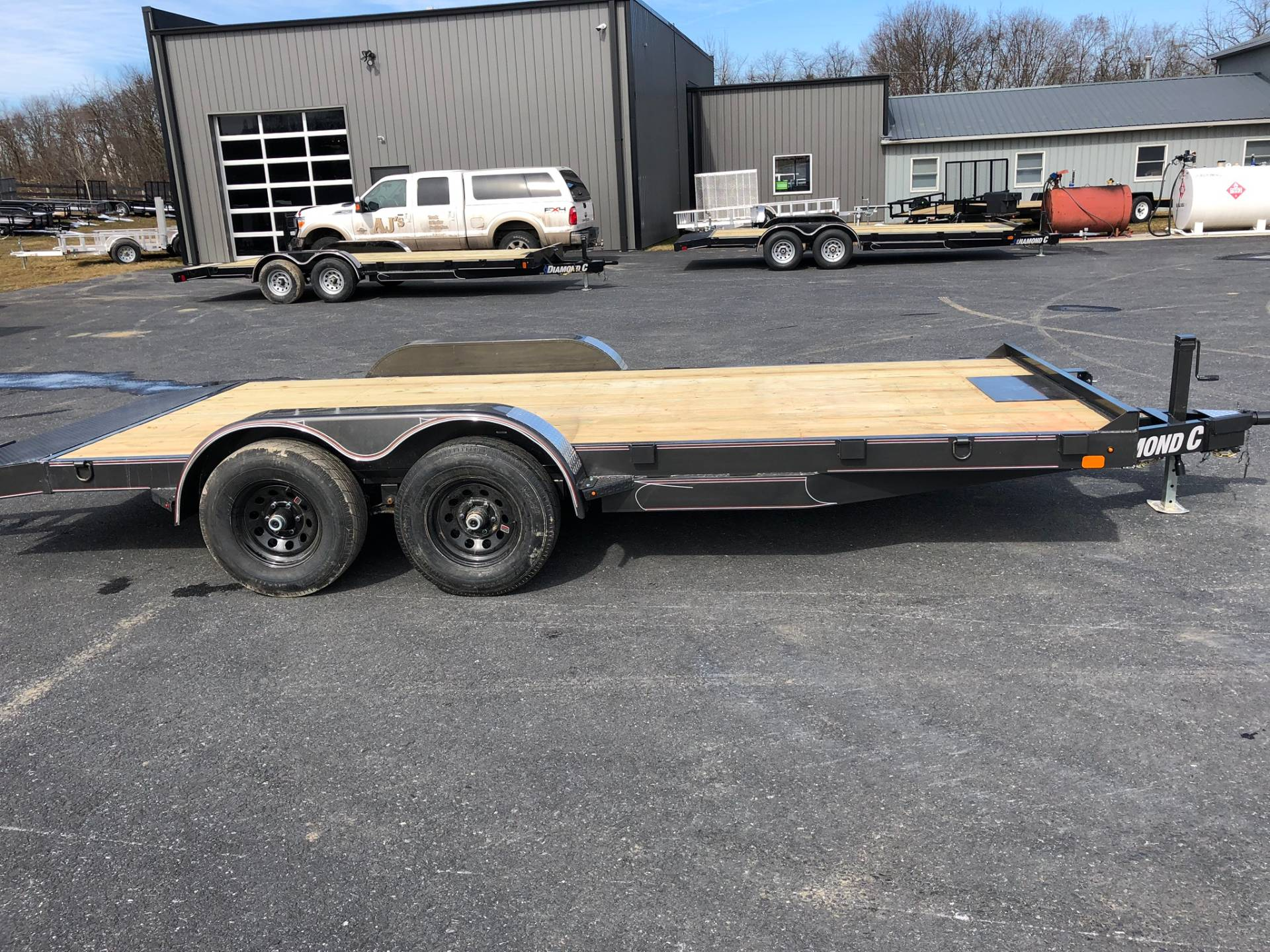 2019 Diamond C 7X18 GTF252 Car Hauler -10K in Harrisburg, Pennsylvania - Photo 3