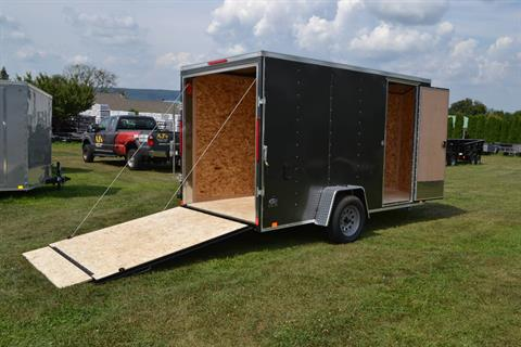 2020 Look Trailers 6X12 STDLX Cargo Trailer Ramp +6 in Harrisburg, Pennsylvania - Photo 10