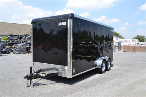 2019 Car Mate Trailers 7x16 Enclosed  Trailer – Ramp +12 in Harrisburg, Pennsylvania - Photo 1