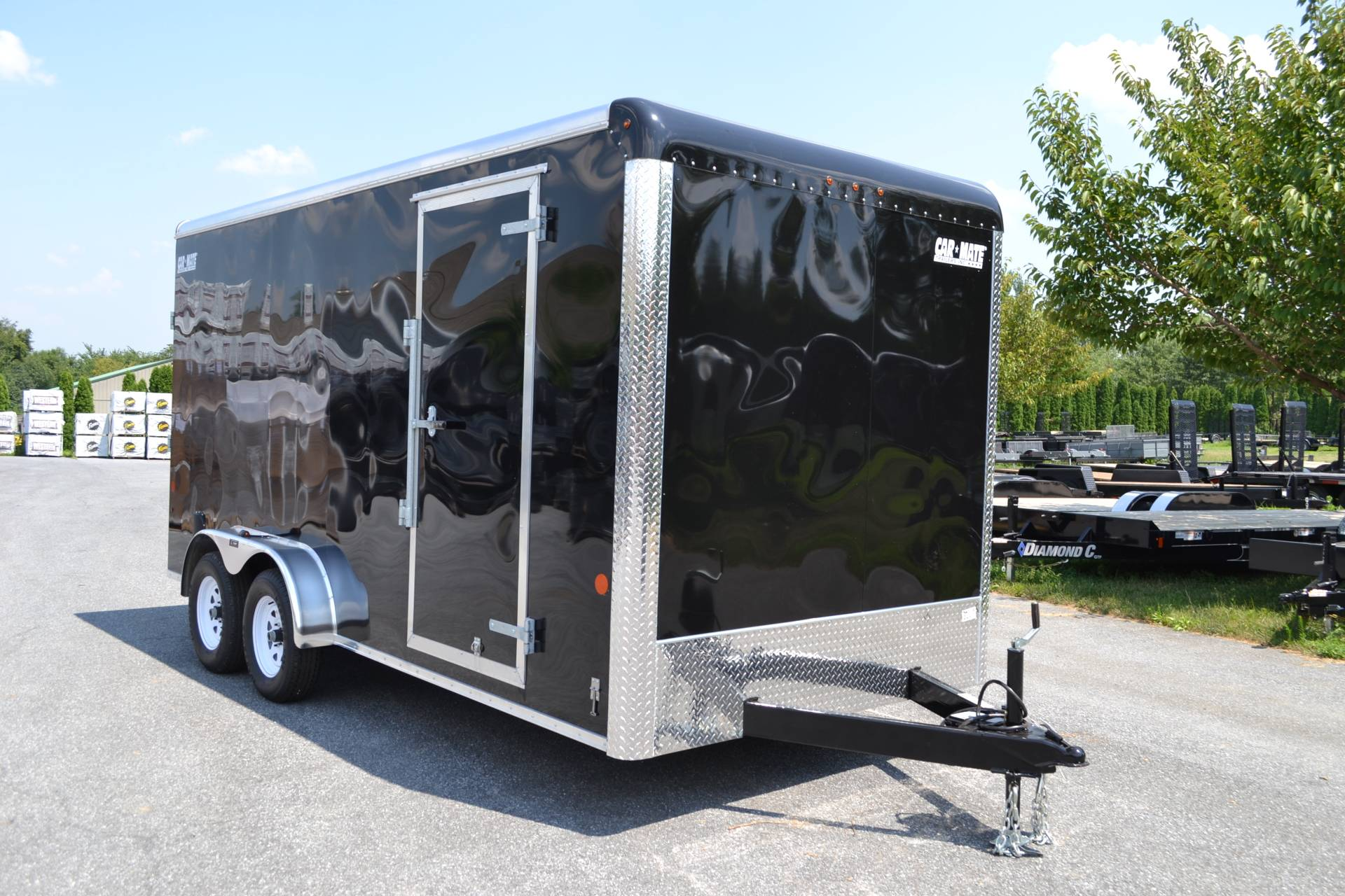2019 Car Mate Trailers 7x16 Enclosed  Trailer – Ramp +12 in Harrisburg, Pennsylvania - Photo 2