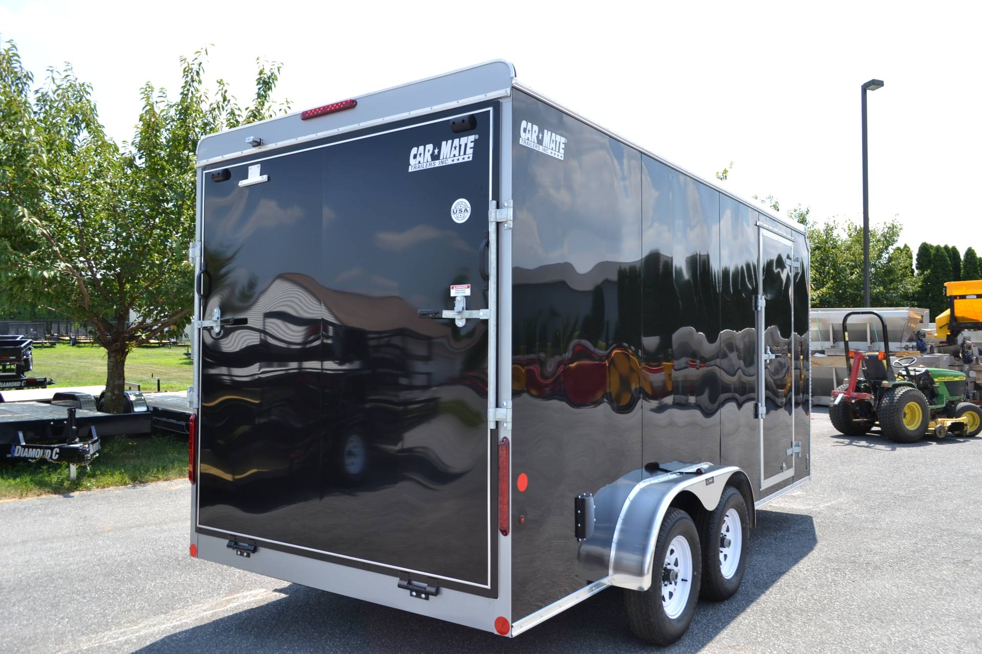 2019 Car Mate Trailers 7x16 Enclosed  Trailer – Ramp +12 in Harrisburg, Pennsylvania - Photo 5