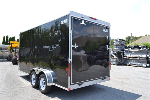 2019 Car Mate Trailers 7x16 Enclosed  Trailer – Ramp +12 in Harrisburg, Pennsylvania - Photo 6