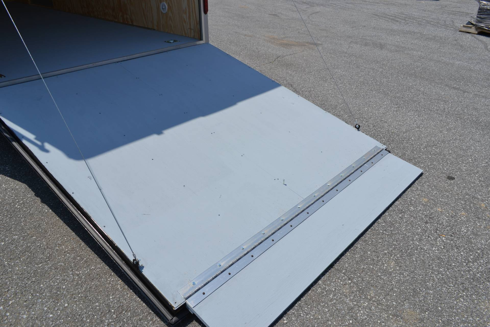 2019 Car Mate Trailers 7x16 Enclosed  Trailer – Ramp +12 in Harrisburg, Pennsylvania - Photo 9