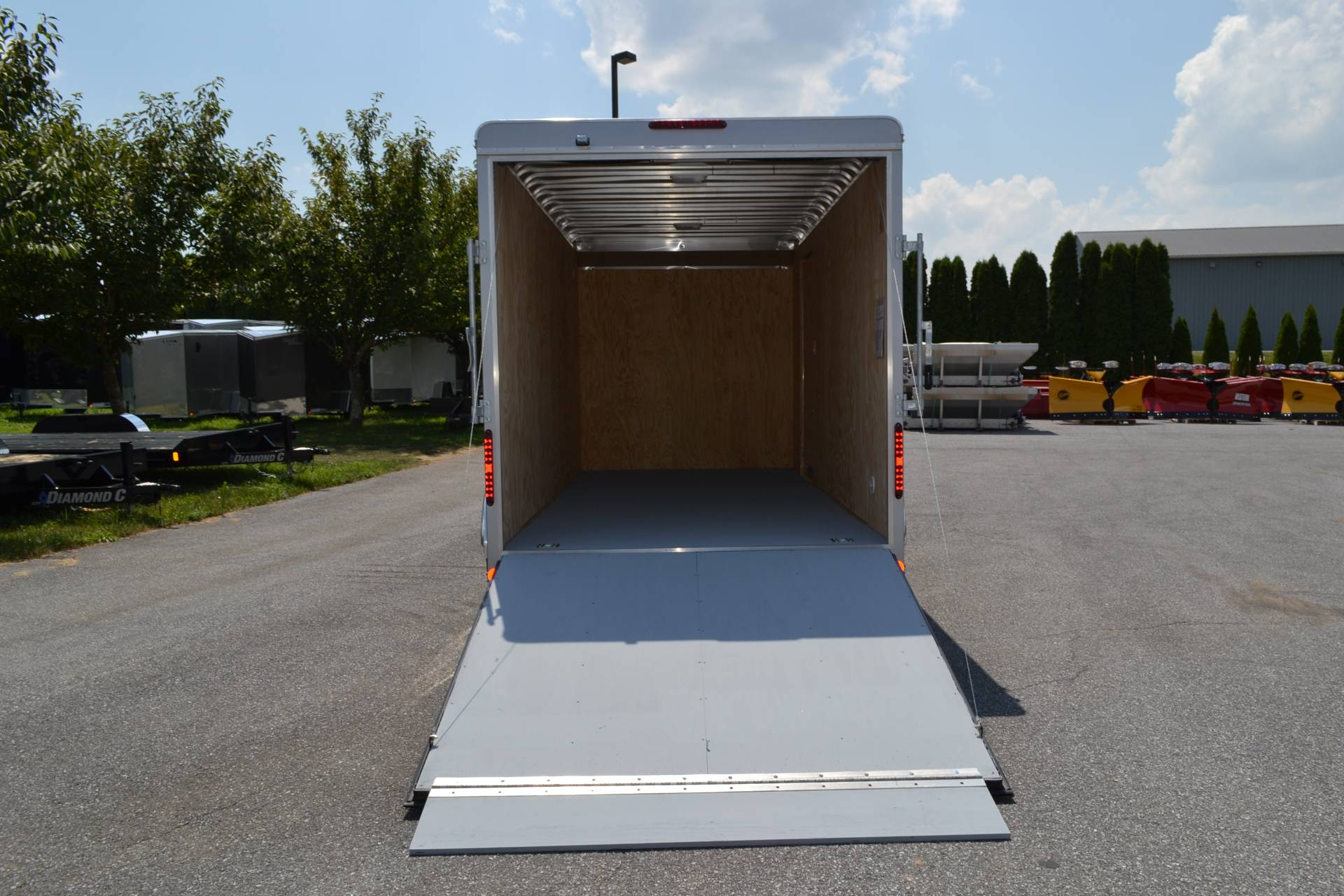2019 Car Mate Trailers 7x16 Enclosed  Trailer – Ramp +12 in Harrisburg, Pennsylvania - Photo 10