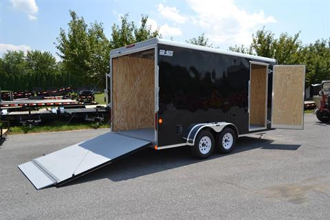 2019 Car Mate Trailers 7x16 Enclosed  Trailer – Ramp +12 in Harrisburg, Pennsylvania - Photo 14