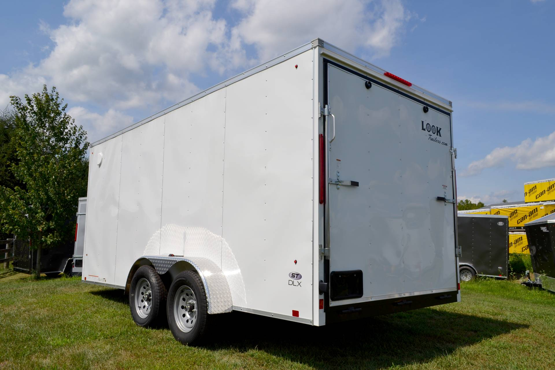 2020 Look Trailers 7X16 STDLX Cargo Trailer Ramp ET+6 in Harrisburg, Pennsylvania - Photo 4