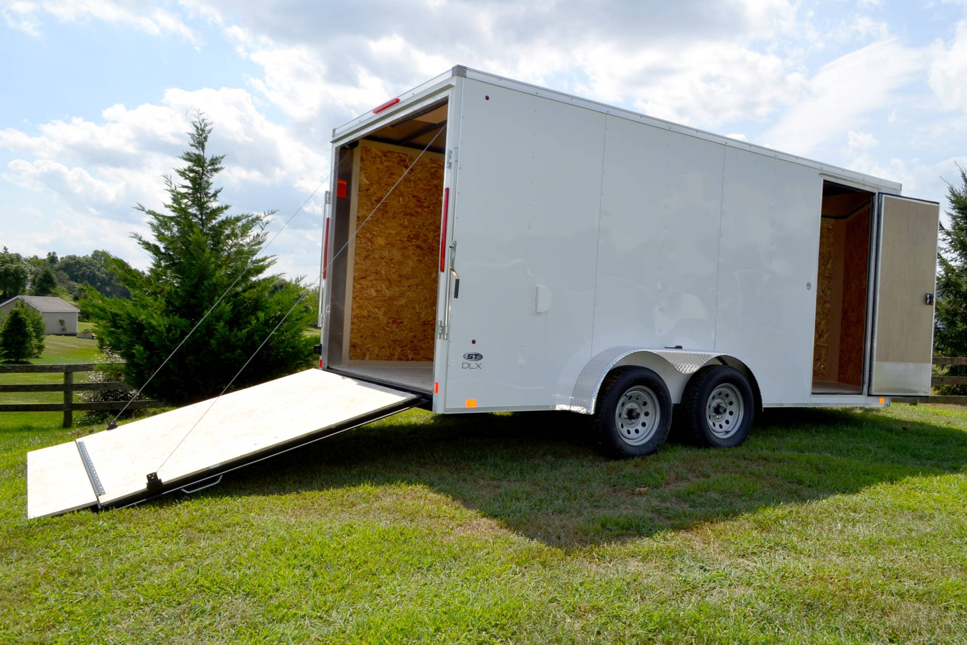 2020 Look Trailers 7X16 STDLX Cargo Trailer Ramp ET+6 in Harrisburg, Pennsylvania - Photo 5