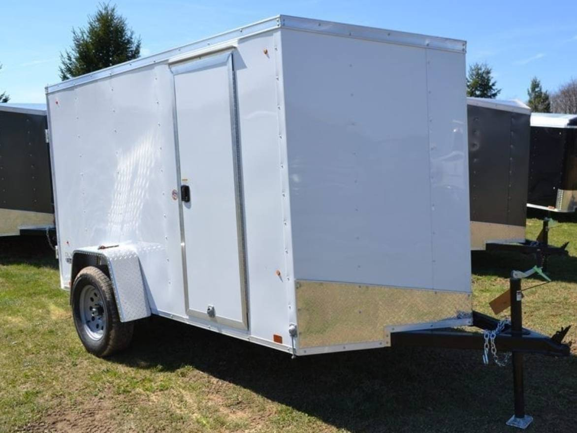 2020 Look Trailers 5x10 STDLX Cargo Trailer Ramp SD +6 in Harrisburg, Pennsylvania - Photo 1