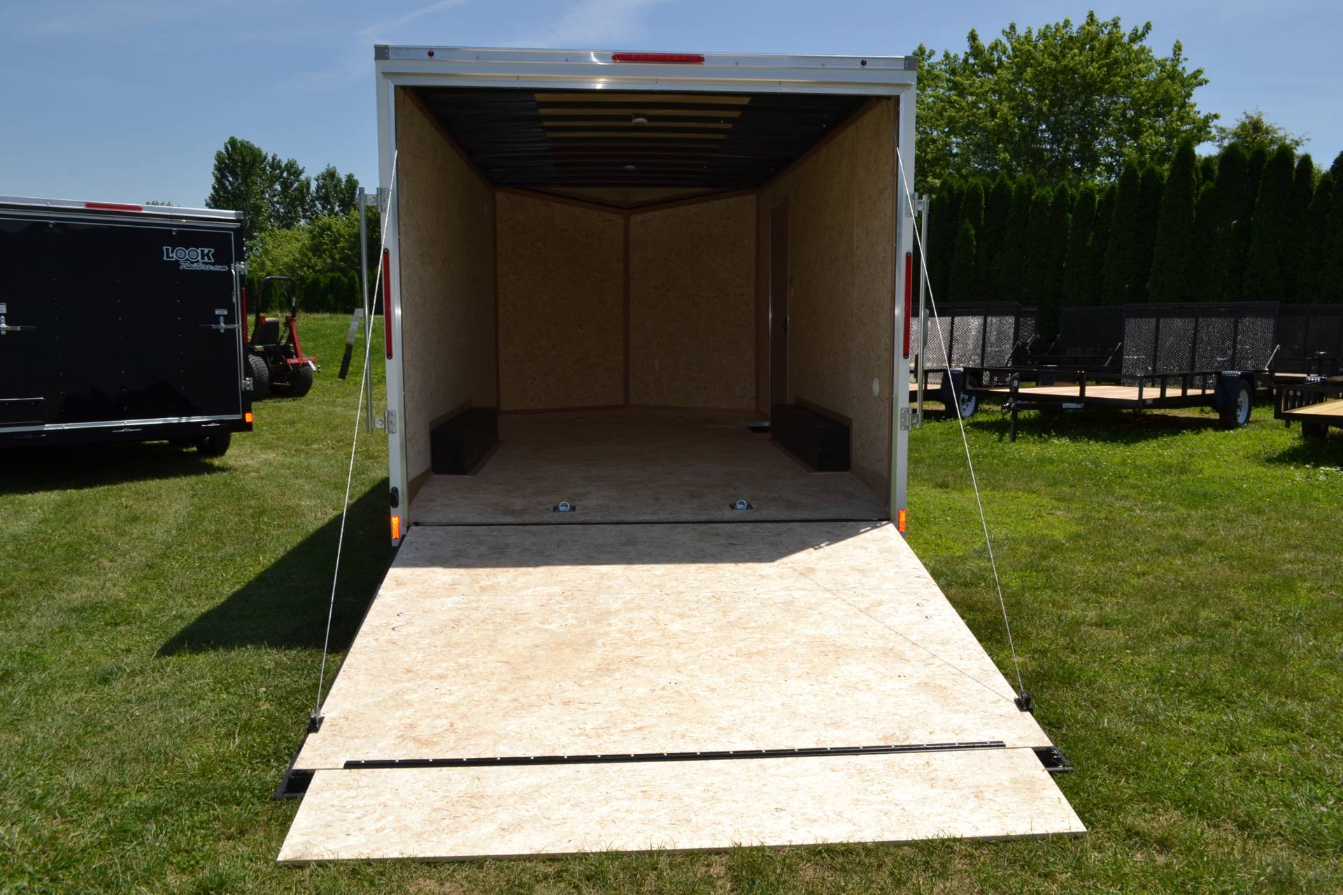 2021 Look Trailers 8.5X16 EWLC Cargo Trailer Ramp ET 7K in Harrisburg, Pennsylvania - Photo 8