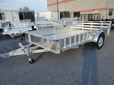 2021 Primo 82x12 Single Axle ATV Side Load ATV Ramps SS in Harrisburg, Pennsylvania - Photo 1