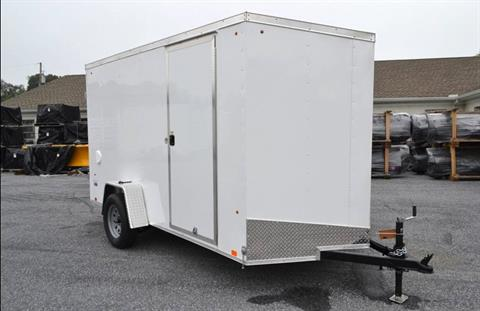 2021 Look Trailers 6X12 STDLX Cargo Trailer Double Door +6 in Harrisburg, Pennsylvania - Photo 2