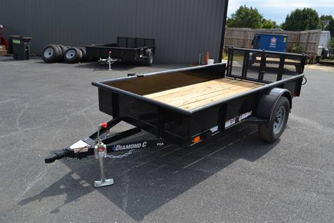 2020 Diamond C 10X60 PSA Utility Trailer SS 3K in Harrisburg, Pennsylvania - Photo 1