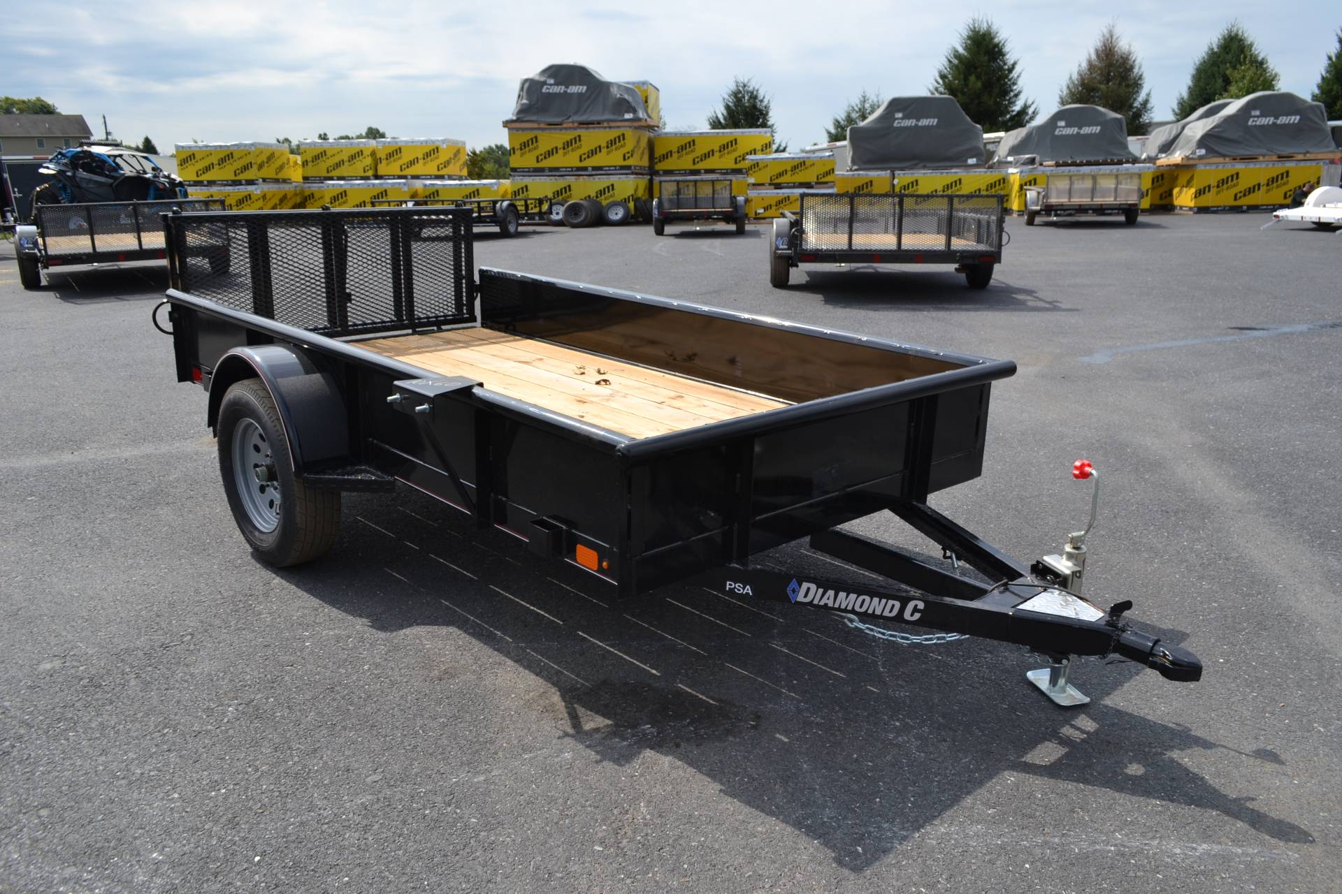 2020 Diamond C 10X60 PSA Utility Trailer SS 3K in Harrisburg, Pennsylvania - Photo 3