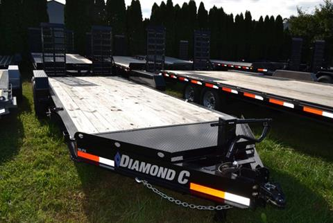 2019 Diamond C 18X82 19LPX Equipment Trailer XWR in Harrisburg, Pennsylvania - Photo 3