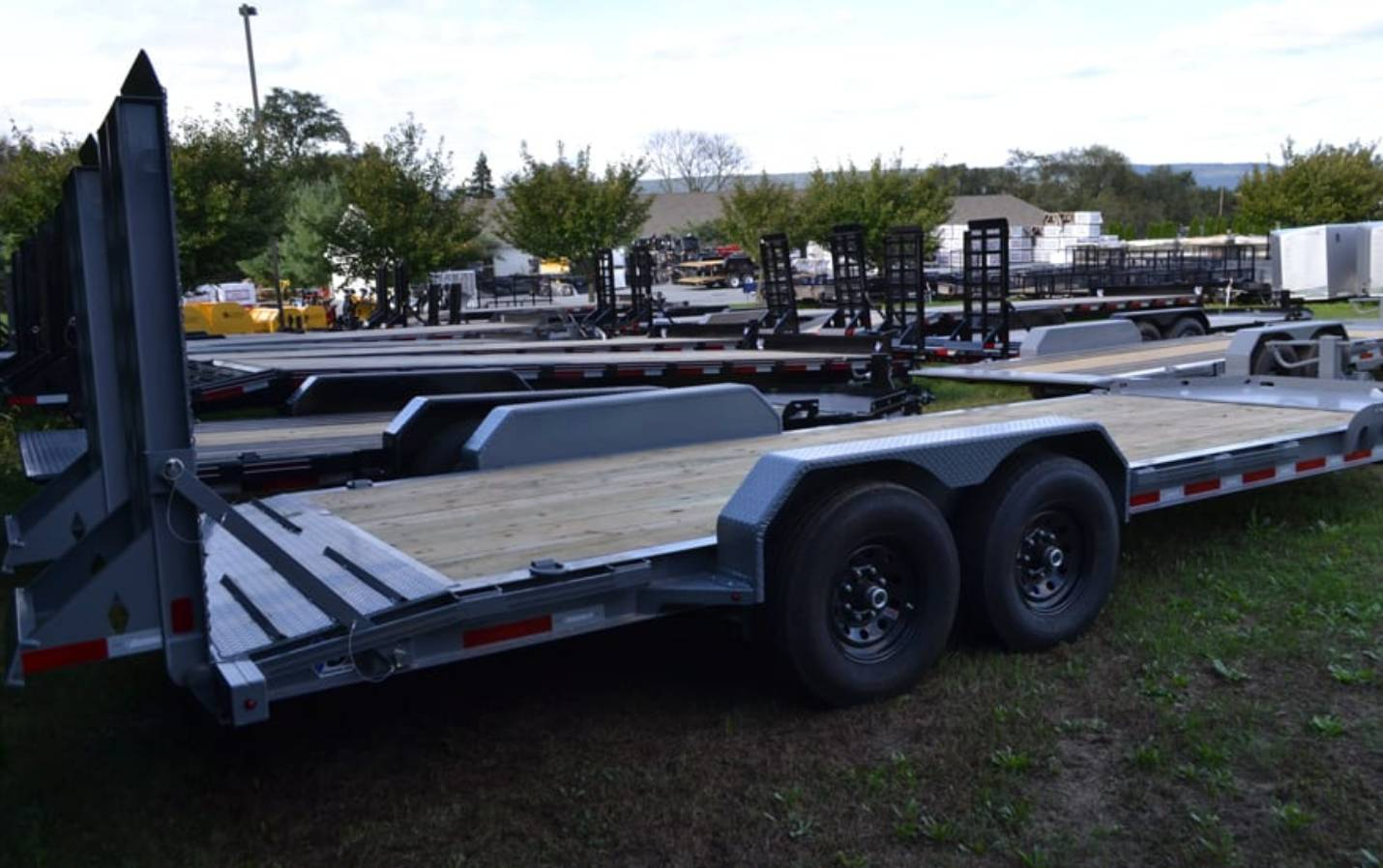 2019 Diamond C 18X82 19LPX Equipment Trailer XWR in Harrisburg, Pennsylvania - Photo 4