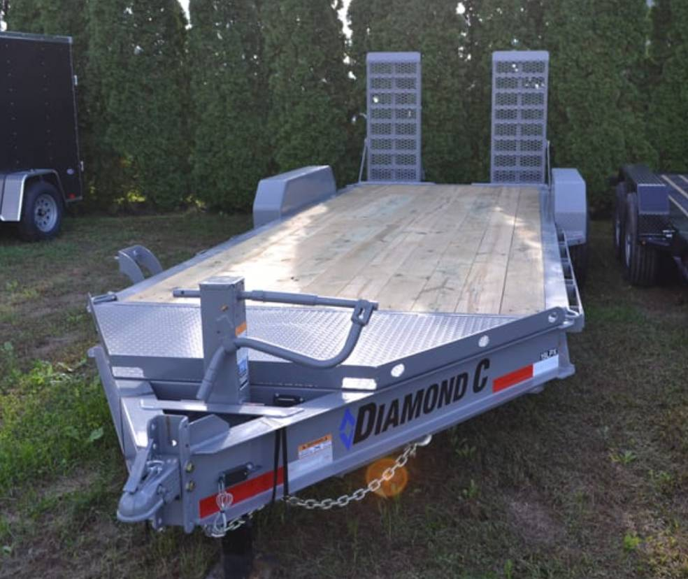 2019 Diamond C 18X82 19LPX Equipment Trailer XWR in Harrisburg, Pennsylvania - Photo 6