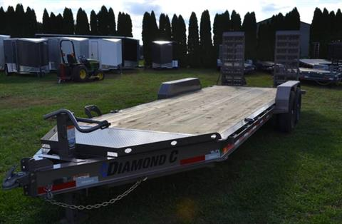 2019 Diamond C 18X82 19LPX Equipment Trailer XWR in Harrisburg, Pennsylvania