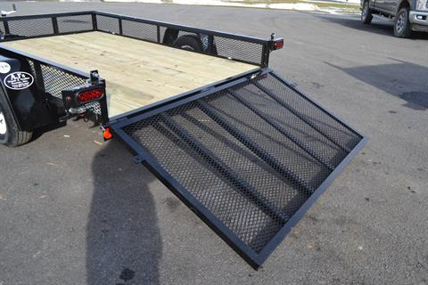 2021 Car Mate Trailers 6x10 Utility Trailer Mesh in Harrisburg, Pennsylvania - Photo 3
