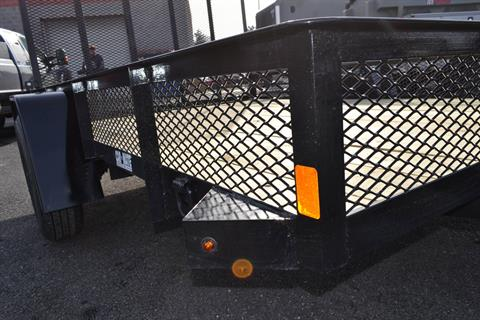 2021 Car Mate Trailers 6x10 Utility Trailer Mesh in Harrisburg, Pennsylvania - Photo 8