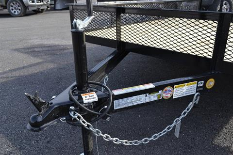 2021 Car Mate Trailers 6x10 Utility Trailer Mesh in Harrisburg, Pennsylvania - Photo 9