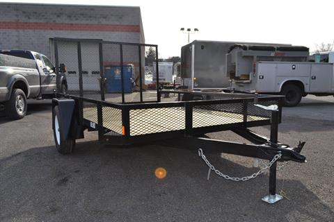 2021 Car Mate Trailers 6x10 Utility Trailer Mesh in Harrisburg, Pennsylvania - Photo 11