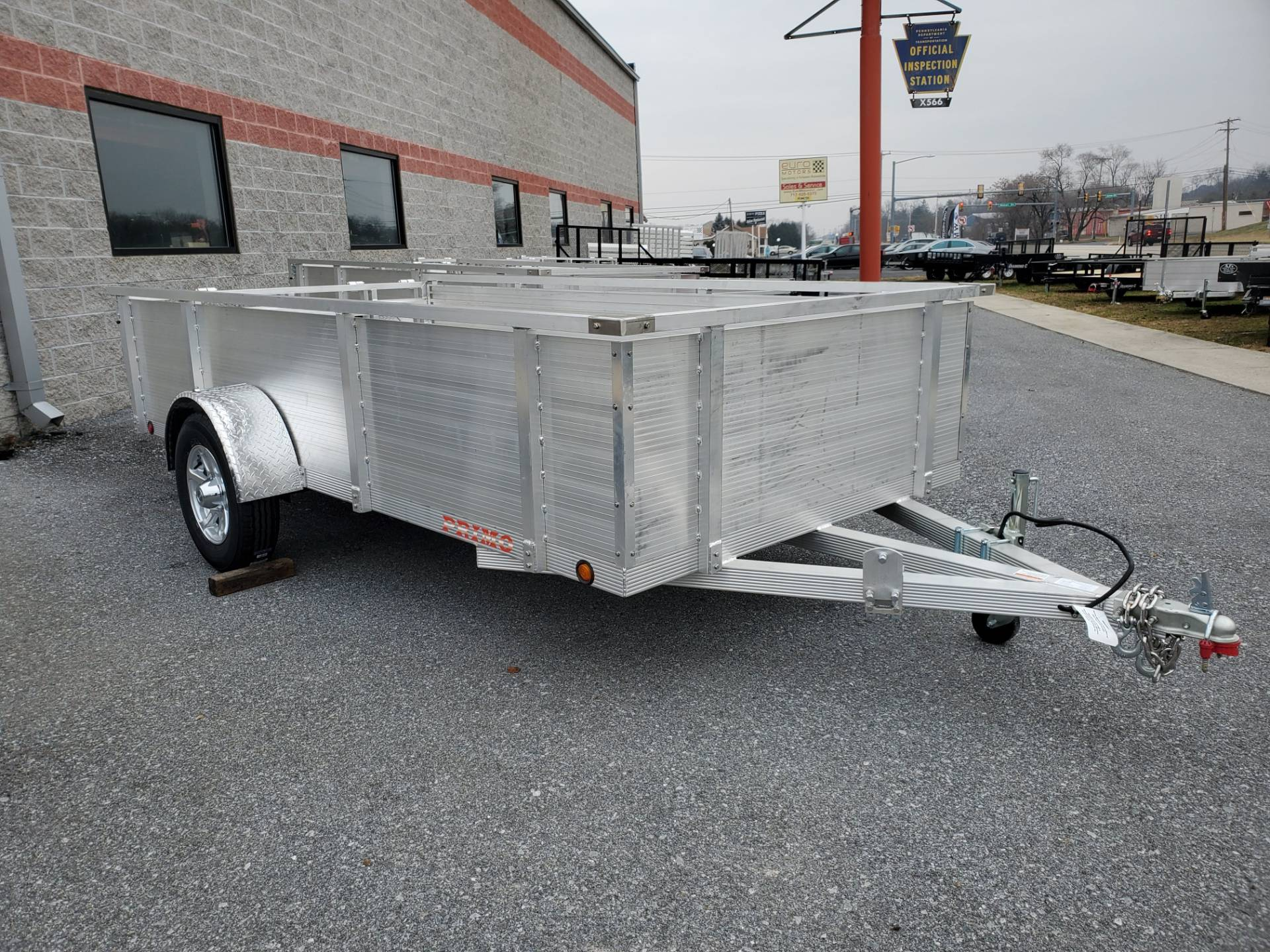 2021 Primo 72x12 Single Axle Utility - 26 High Solid Side in Harrisburg, Pennsylvania - Photo 3