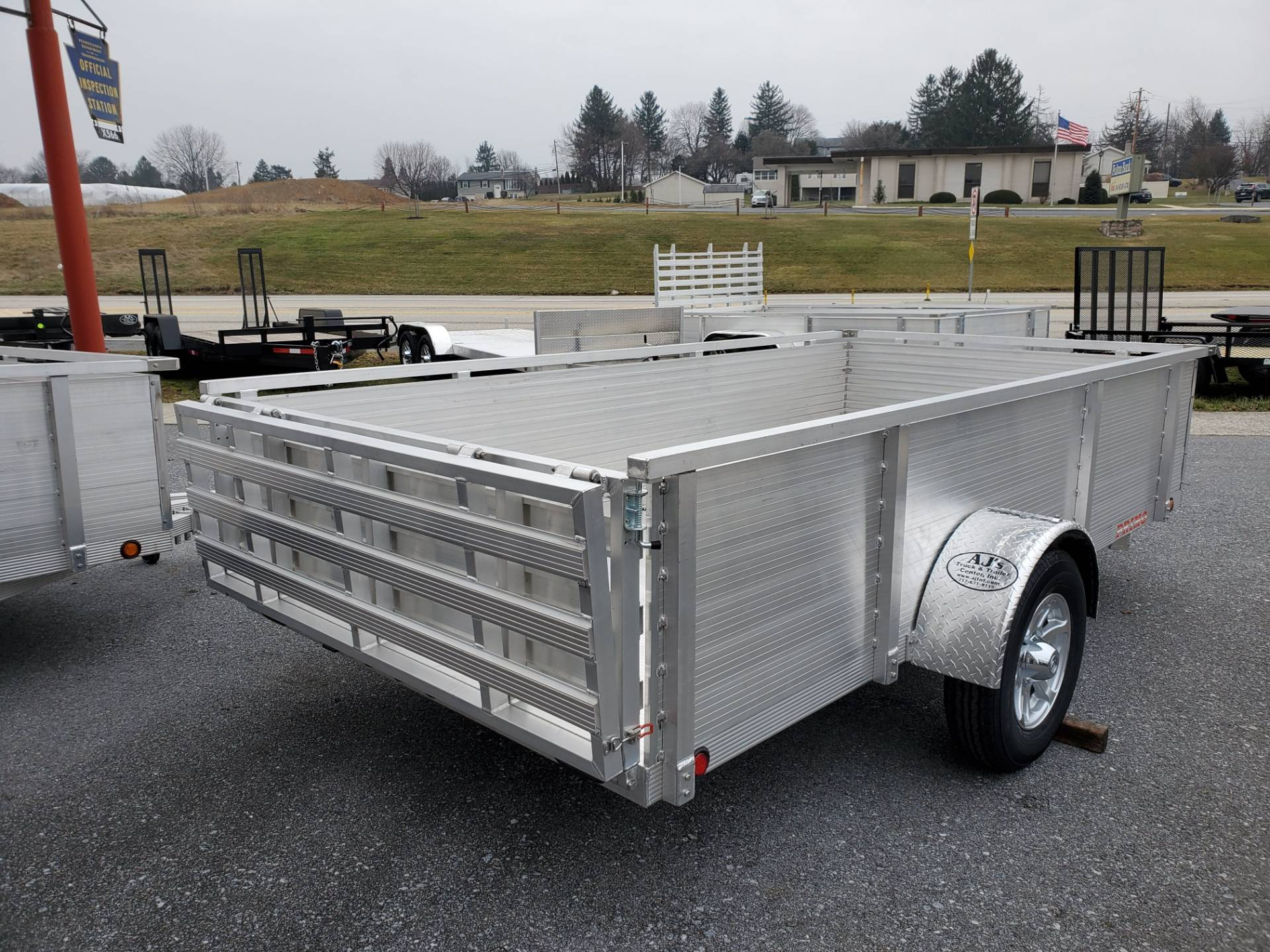 2021 Primo 72x12 Single Axle Utility - 26 High Solid Side in Harrisburg, Pennsylvania - Photo 10