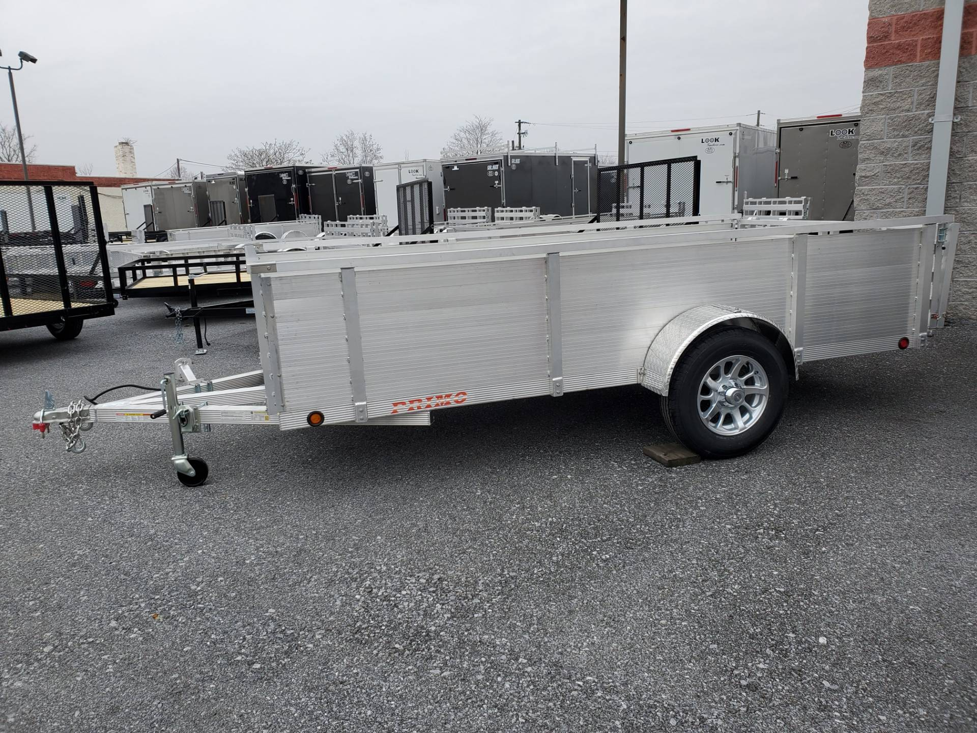 2021 Primo 72x12 Single Axle Utility - 26 High Solid Side in Harrisburg, Pennsylvania - Photo 11