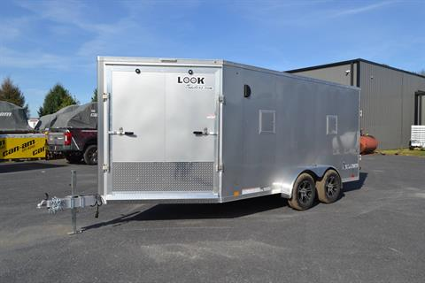 2020 Look Trailers  7x19 Avalanche Aluminum Enclosed Snowmobile Trailer 7K +6 in Harrisburg, Pennsylvania - Photo 1