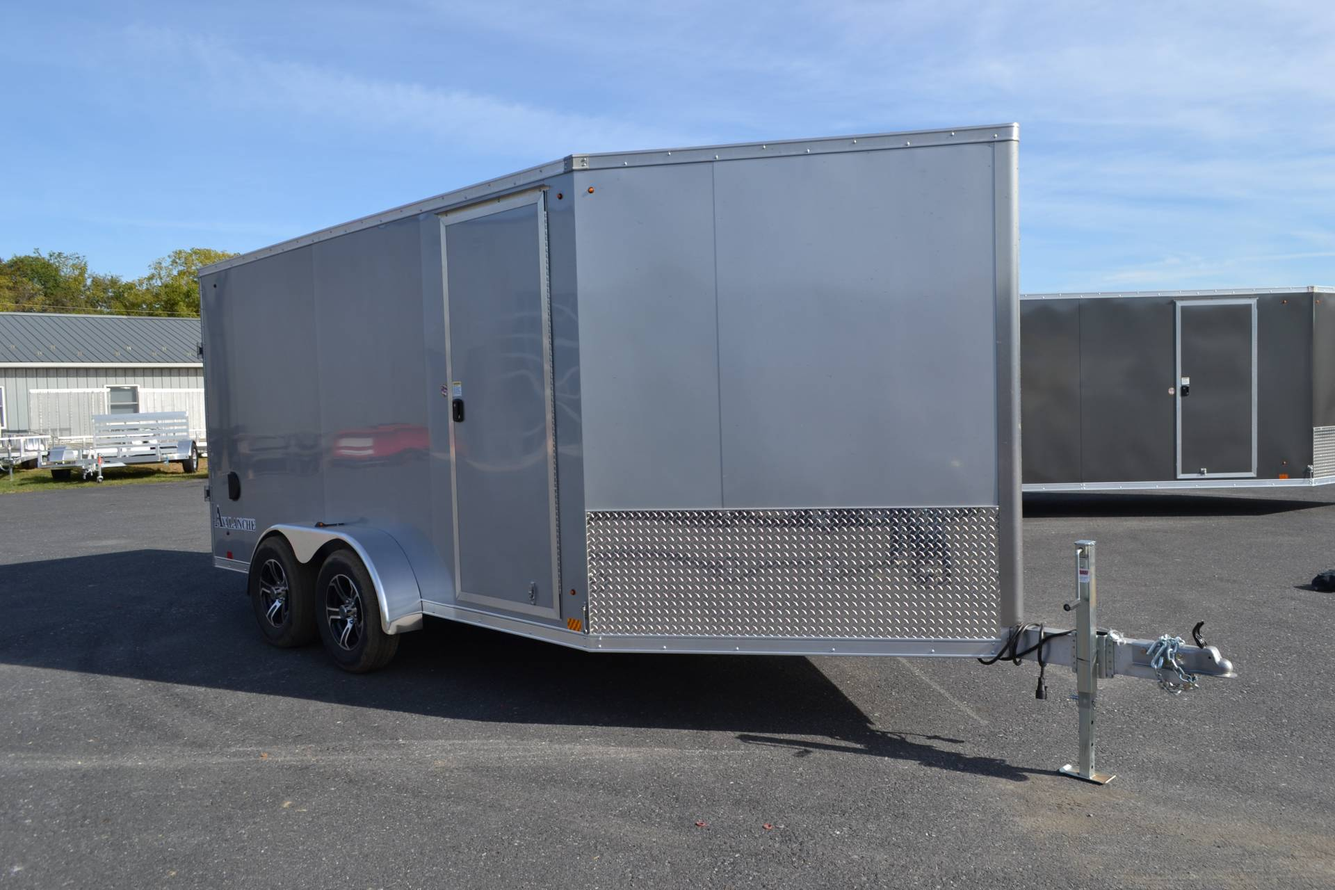 2020 Look Trailers  7x19 Avalanche Aluminum Enclosed Snowmobile Trailer 7K +6 in Harrisburg, Pennsylvania - Photo 2