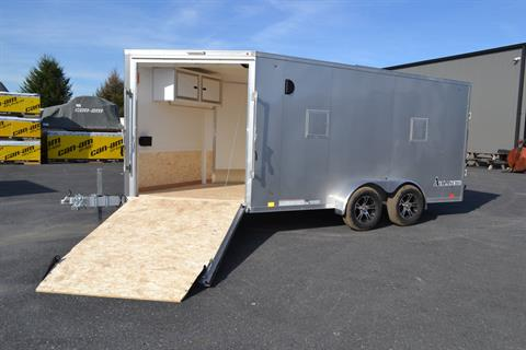2020 Look Trailers  7x19 Avalanche Aluminum Enclosed Snowmobile Trailer 7K +6 in Harrisburg, Pennsylvania - Photo 3