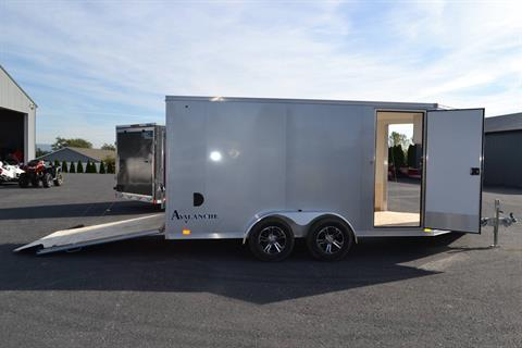 2020 Look Trailers  7x19 Avalanche Aluminum Enclosed Snowmobile Trailer 7K +6 in Harrisburg, Pennsylvania - Photo 6
