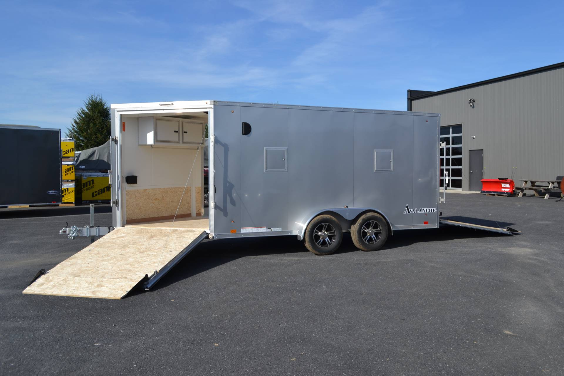 2020 Look Trailers  7x19 Avalanche Aluminum Enclosed Snowmobile Trailer 7K +6 in Harrisburg, Pennsylvania - Photo 9