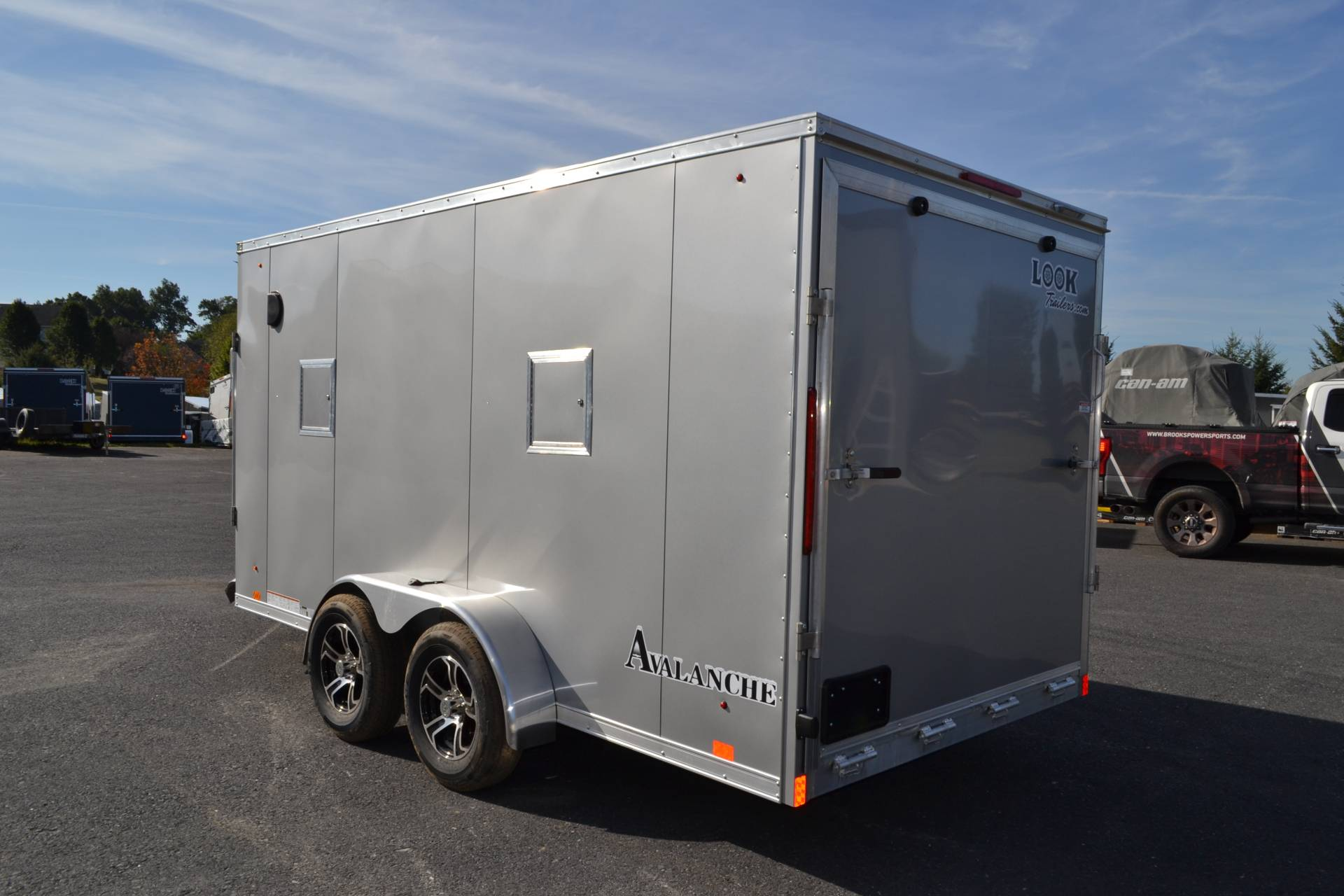 2020 Look Trailers  7x19 Avalanche Aluminum Enclosed Snowmobile Trailer 7K +6 in Harrisburg, Pennsylvania - Photo 17