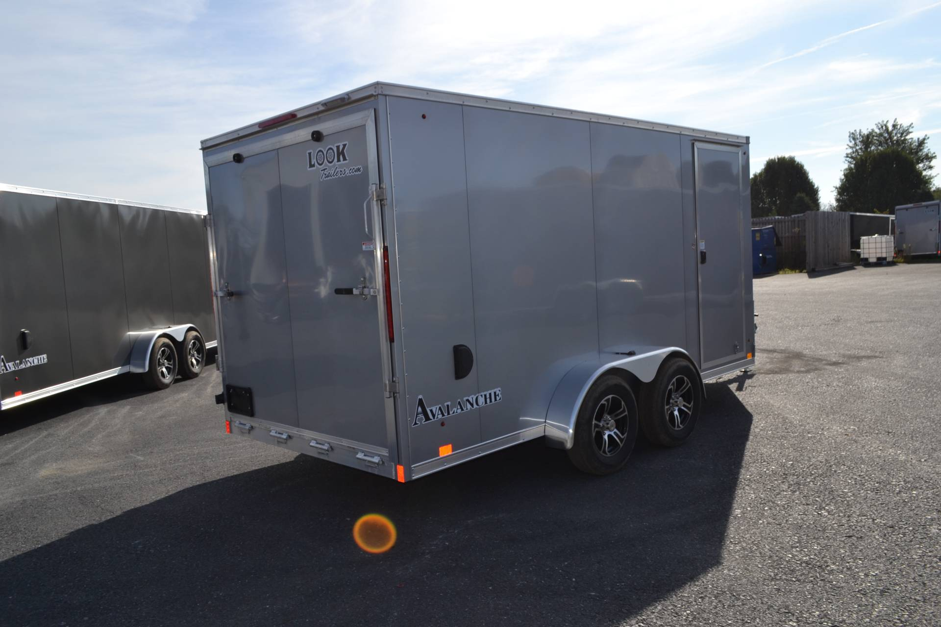 2020 Look Trailers  7x19 Avalanche Aluminum Enclosed Snowmobile Trailer 7K +6 in Harrisburg, Pennsylvania - Photo 21