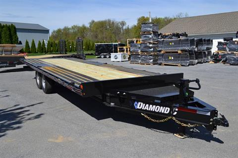 2019 Diamond C 24X102 DEC Equipment Trailer FT-BW in Harrisburg, Pennsylvania