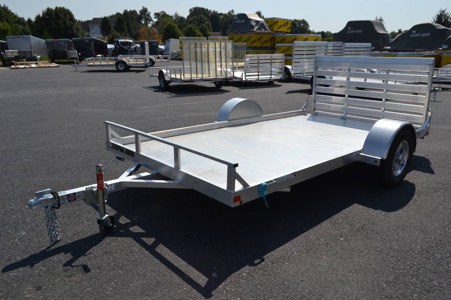 2020 Carry-On Trailers 6.5x12 AGA Aluminum Utility Trailer 2K in Harrisburg, Pennsylvania - Photo 1
