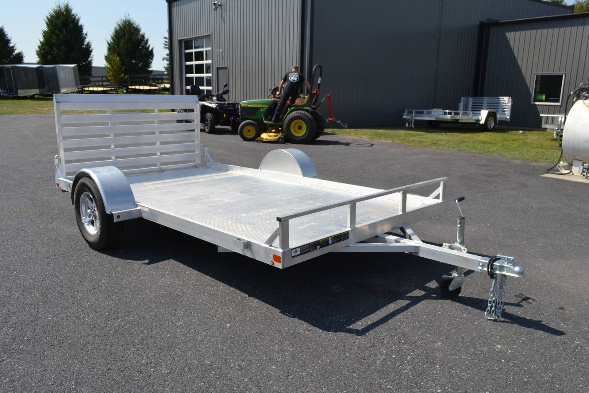 2020 Carry-On Trailers 6.5x12 AGA Aluminum Utility Trailer 2K in Harrisburg, Pennsylvania - Photo 4