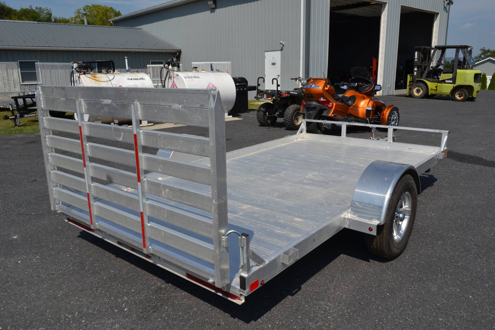 2020 Carry-On Trailers 6.5x12 AGA Aluminum Utility Trailer 2K in Harrisburg, Pennsylvania - Photo 8