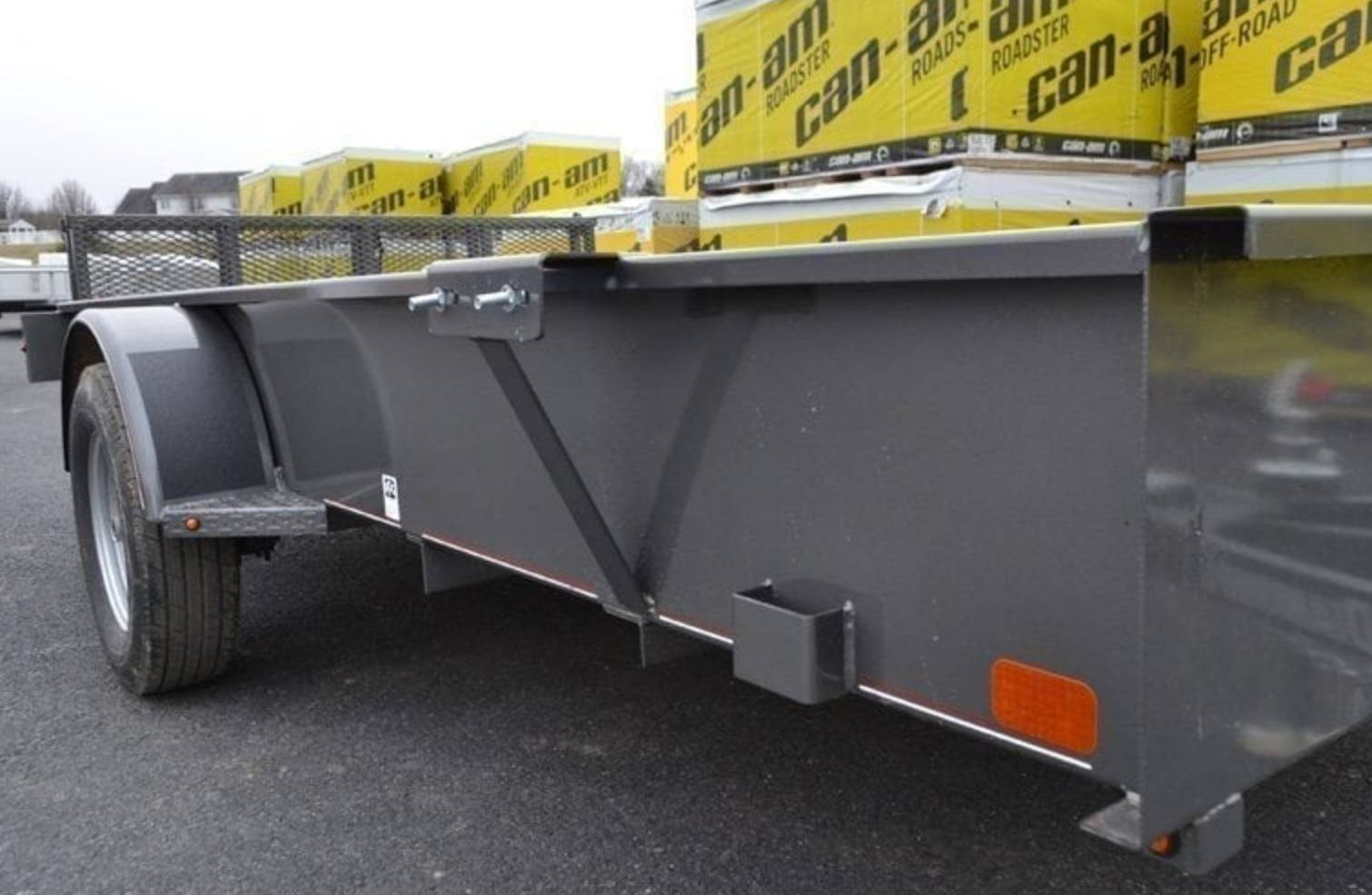 2019 Diamond C 6X12 26SSA Utility Trailer in Harrisburg, Pennsylvania - Photo 3