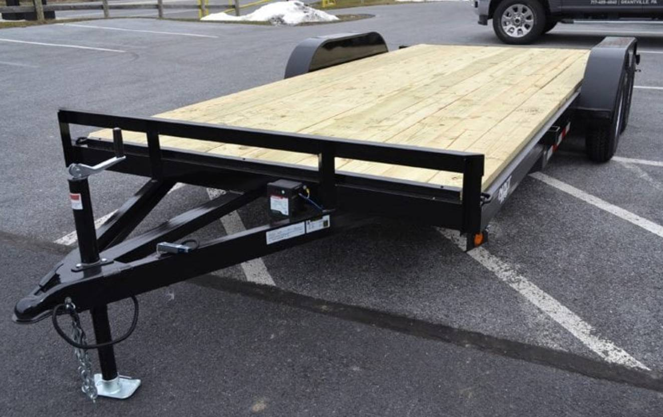 2019 TWF MFG 7X20 NNT Car Hauler Trailer 7K in Harrisburg, Pennsylvania - Photo 1