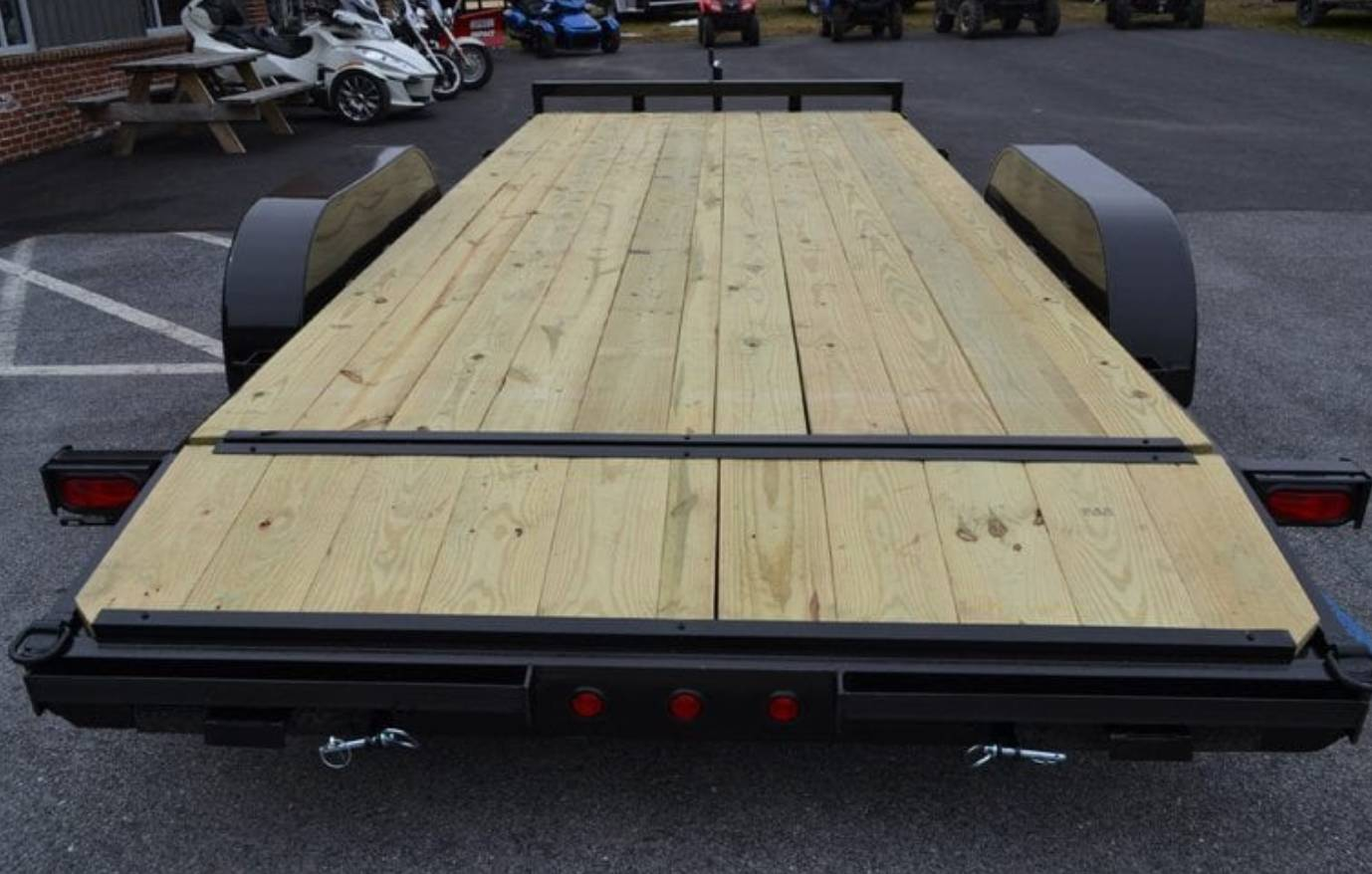 2019 TWF MFG 7X20 NNT Car Hauler Trailer 7K in Harrisburg, Pennsylvania - Photo 2