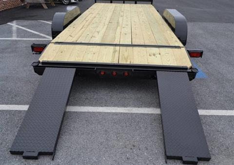 2019 TWF MFG 7X20 NNT Car Hauler Trailer 7K in Harrisburg, Pennsylvania - Photo 6