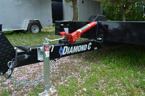 2020 Diamond C 12x77 DSA Equipment Trailer 7K in Harrisburg, Pennsylvania - Photo 3