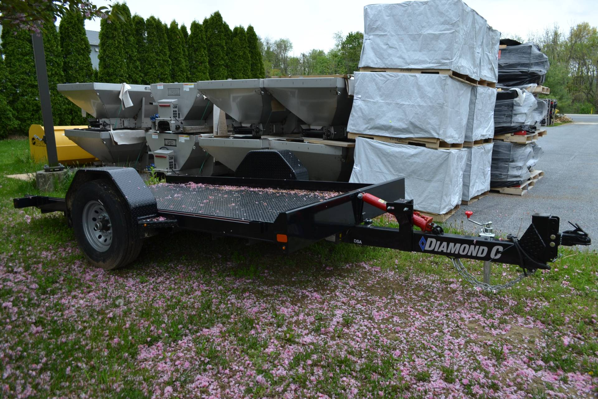 2020 Diamond C 12x77 DSA Equipment Trailer 7K in Harrisburg, Pennsylvania - Photo 4